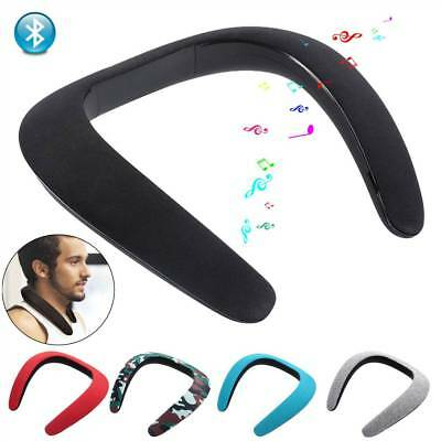 Portable Neck Wearable Bluetooth Sports Wireless Speaker for Samsung Huawei