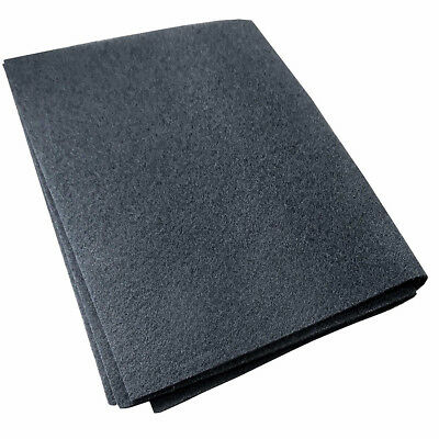 47*114cm Carbon Cooker Hood Filter Cut To Size Charcoal Vent Filter for All Hood