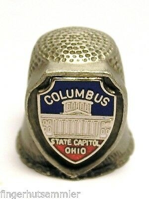 Fingerhut Thimble aus Metall - Columbus State Capitol Ohio