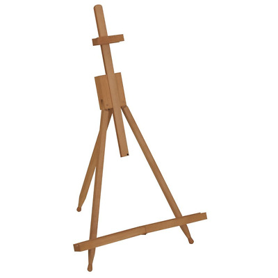 WOODEN TABLE TOP TRIPOD EASEL 790mm ARTIST PAINTING FOLDING DISPLAY STAND B38-3