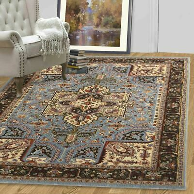 A2Z Rug Traditional Style Indoor Floor Area Rugs Oriental Medallion Room Carpets
