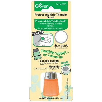 Clover Protect & Grip Thimble-small - Thimble Small