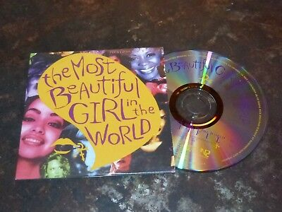 Prince - The Most Beautiful Girl In The World !rare Euro Cd!!!!!!!!!!!!!!!!