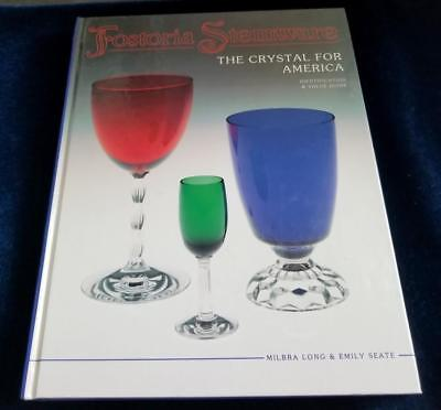 Fostoria Stemware Identification Pattern Guide Reference Book Long Seate Glass