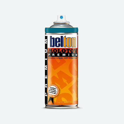 Molotow : Belton Premium Spray Paint : 400ml : Petrol Blue 112 : By Road Parcel