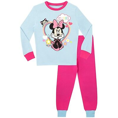 Minnie Mouse Pyjamas I Girls Disney Pyjama Set I Minnie Mouse PJs