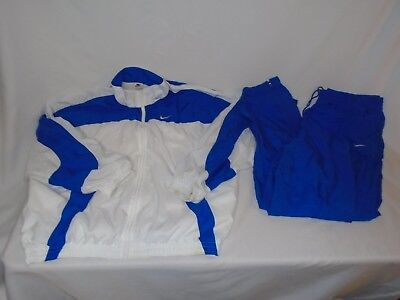 65b726a765a9 NIKE TRACK SUIT Vintage 90s Windbreaker Jacket and pants size Mens ...