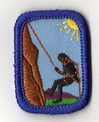 Girl Scouts Cadette IPP Interest Project Badge Patch~1997 Navy~Cycling Biking