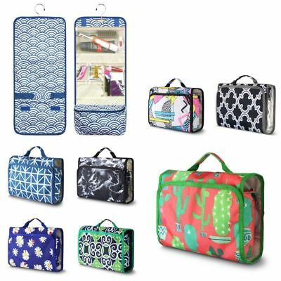 Cosmetic Makeup Toiletry Case Wash Organizer Storage Pouch Travel Hanging Bag