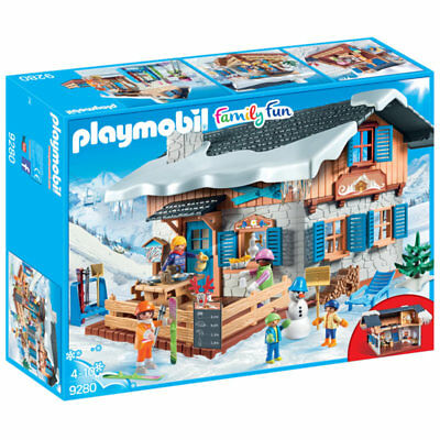 PLAYMOBIL Ski Lodge - Family Fun 9280