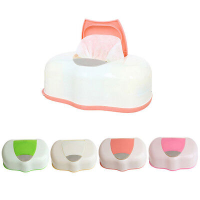 Baby Wipes Travel Case Wet Kids Box Changing Dispenser Home Use Storage  FF