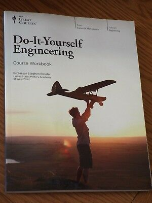 The Great Courses DO IT YOURSELF ENGINEERING Course WORKBOOK New