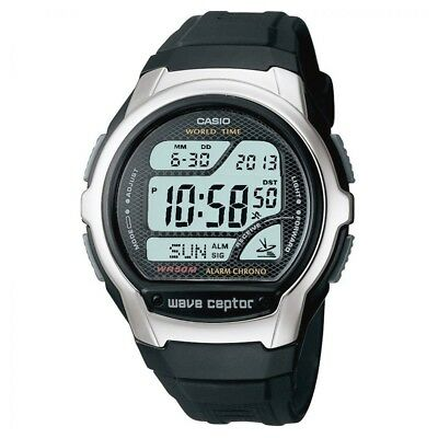 Casio Digital Watch Waveceptor Atomic Radio Time Stopwatch Alarm... WV-58U-1AVES