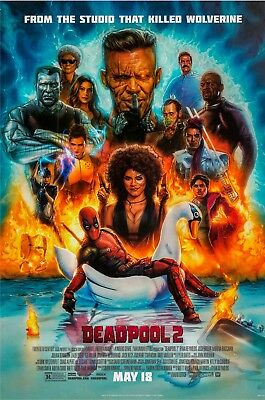 DEADPOOL 2 MOVIE POSTER, USA Version, (Size 24 x 36)