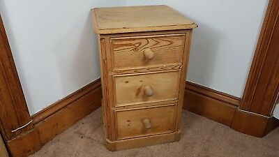 VINTAGE 1920s EDWARDIAN PINE WOOD CHEST OF DRAWERS CABINET UK MADE