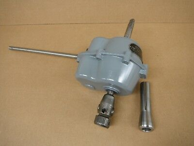 Ettco-Emrick model 2-B TAPPER Tapping Head Attachment 2MT with R8 adaptor USED