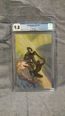 Amazing Spider-Man #798 1:100 Alex Ross Virgin Variant  Cgc 9.8 Nm/m