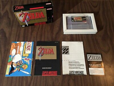 The Legend of Zelda: A Link to the Past (Super Nintendo, SNES) Complete - Tested