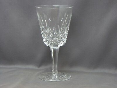 """Lismore Water Goblet Crystal Glass Waterford, Excellent Condition! 6 7/8"""""""