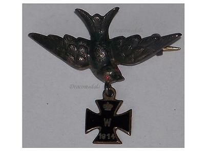 Germany WWI Air Force badge Patriotic Iron Cross EK1 1914 1918 Trench Art German