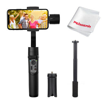 Hohem iSteady Mobile 3-Axis Handheld Stabilizing Gimbal +Extension Stick+ Tripod