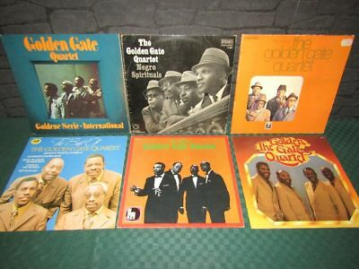 The Golden Gate Quartet: Schallplatten-Sammlung, Vinyl Collection - 6 LP's
