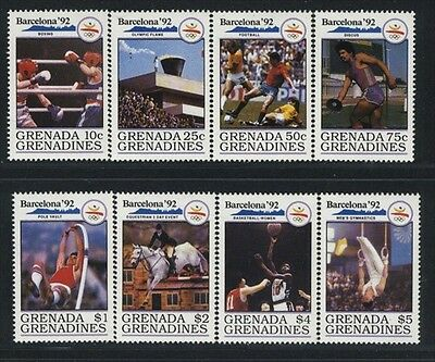 Grenada-Grenadines MNH Sc 1216-23 Olympics Value $ 12.05  US $$