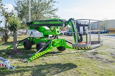 Nifty SD64 70 Ft Boom Lift, 4WD, Weighs 8700 Lbs,Brand New 2018 w Smaller Basket