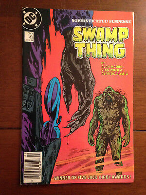 Swamp Thing # 45 Fine+ Alan Moore Steve Bissette Cover Dc Comics Mark Jewelers