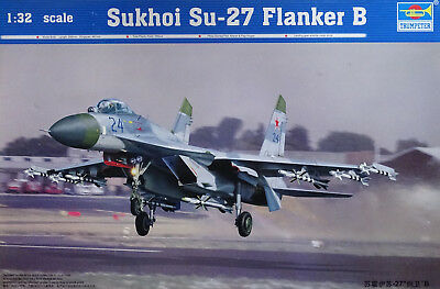 TRUMPETER® 02224 Sukhoi Su-27 Flanker B in 1:32
