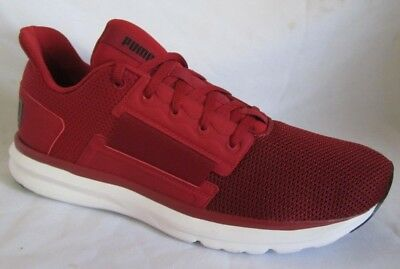 1165636eeb4 PUMA MEN S Enzo Street Running Shoes Red-High Risk Red-White 190461 ...
