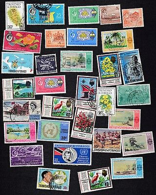 Trinidad & Tobago  - Packet of 30+   Stamps - all different -  B8003