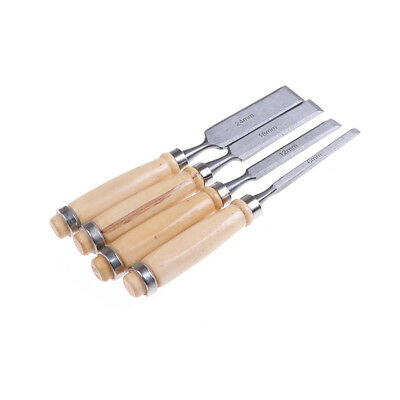 4Pcs/set 8/12/16/20mm Wood Work Carving Chisels Tool Set For Wood Working DS