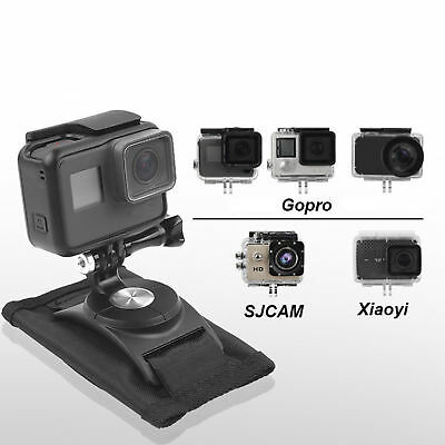 Quick Release Strap Backpack Mount Bracket Holder For GoPro Hero 4 5 6 Accessory