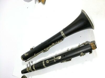 clarinet wood antique LUDWIG HORN