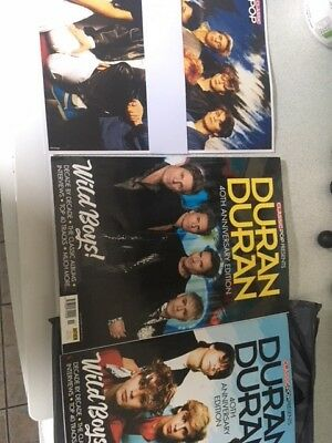 Duran Duran Classic Pop 2 Magazines 40th Anniversary Edition Collector's Bundle