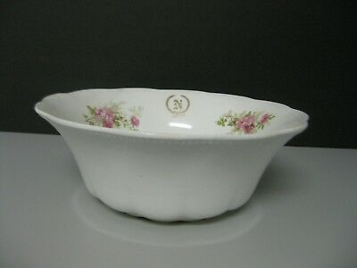Imperial Faience Homer Laughlin The Angelus Round Vegetable Bowl 1900s