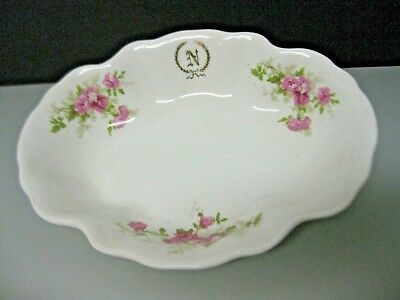 Imperial Faience Homer Laughlin The Angelus Oval Serving Bowl 1900s