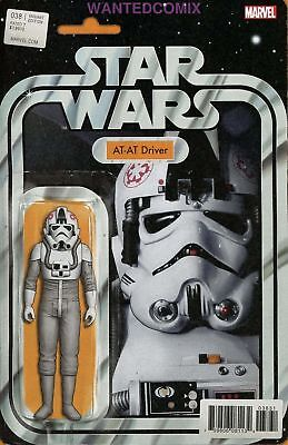 Star Wars #38 Christopher Action Figure Variant Cover At-At Driver Comic 2017 1