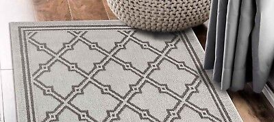 Hallway Runner Hall Runner Rug Modern Grey 3 Metres Long x 80cm Wide Elite 4243