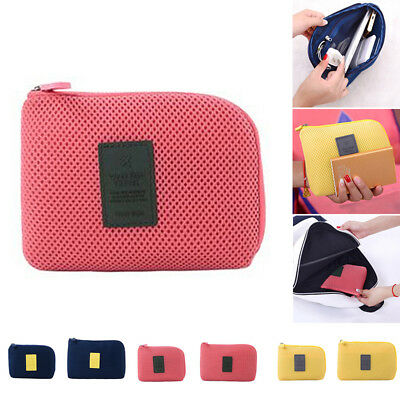 Cable Cosmetic Organizer Bag Digital Data Travel Q Storage Outdoor Shakeproof