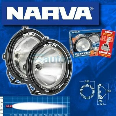 Narva Extreme Hid Combo Driving Light Lights Lamp Lamps  Kit Clear New  71762Hid