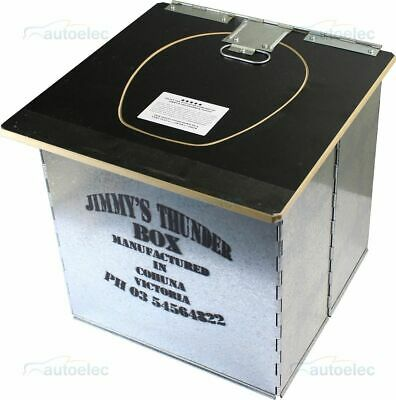Jimmy's Thunderbox Outdoor Camp Camping0000 Toilet Folding Portable No Bags