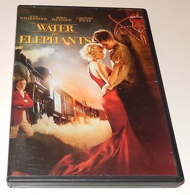 Water for Elephants  Reese Witherspoon  Robert Pattinson  (DVD, 2011) WS