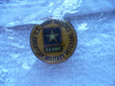 Tg- Us Army Salutes American Military Veterans  Pin   #40168 Mip