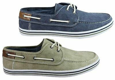 New Wild Rhino Dustin Mens Comfortable Canvas Boat Shoes Casual Shoes