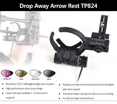 Fall Drop Away Archery Arrow Rest for Right Left Hand Compound Bow Shooting