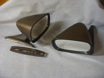 New Mazda Mx5 Miata Eunos Black Racing Mirror Pair