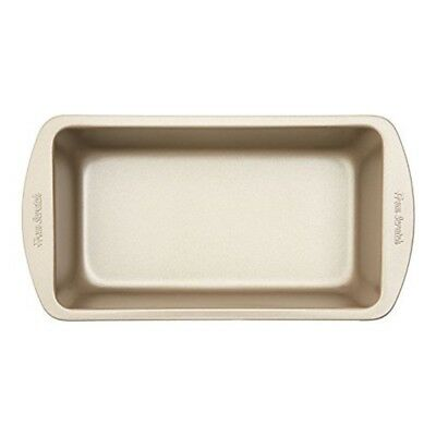 Premier Housewares From Scratch Satin Loaf Tin, Carbon Steel, Champagne, 14.8 x