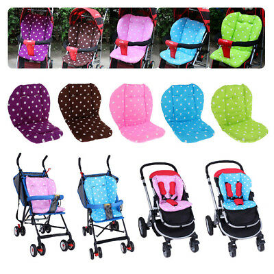 Baby Stroller/Car/High Chair Seat Cushion Liner Mat Pad Cover Protector Cotton